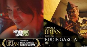 Gawad Urian 2019: Eddie Garcia & Nadine Lustre Lead List Of Winners