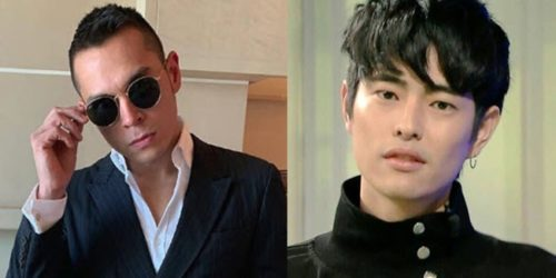 Jake Cuenca and Fumiya Sankai