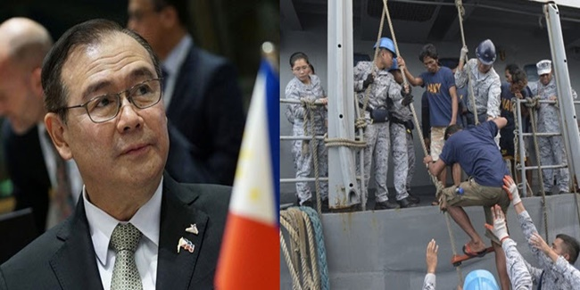 Locsin on West Philippine sea collision