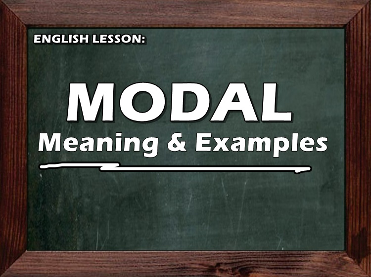 Modal Meaning Examples