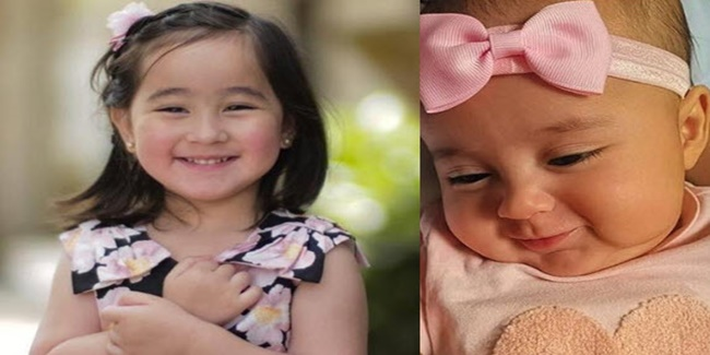 Scarlet Snow Belo and baby Pilar