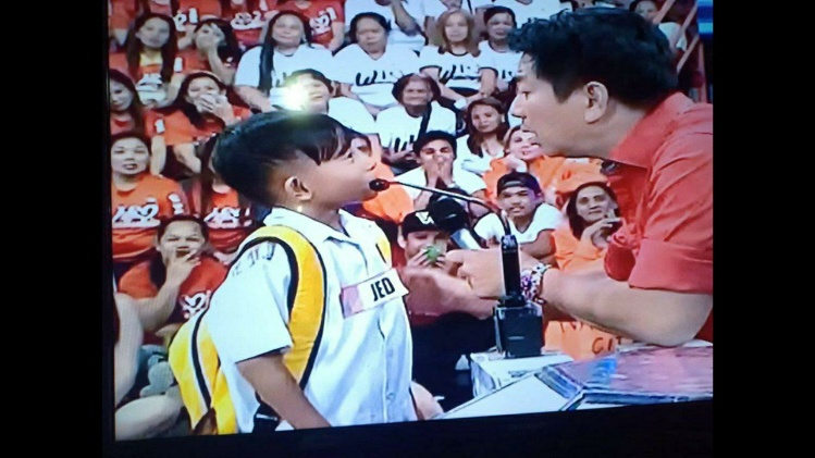 Wowowin contestant Willie Revillame