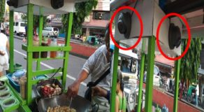 Fishball Stand Packed With CCTV Cameras Bothered Netizens
