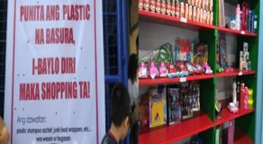 Plastic Barter Store in Cebu City Accepts Plastic Trash As Payment