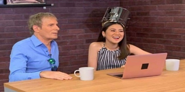 morissette amon and Michael Bolton
