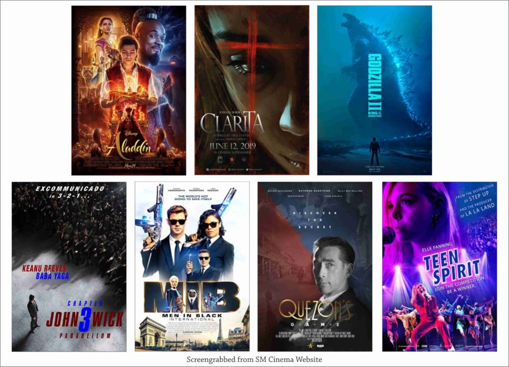 SM Cinema Showing Movies Today June 13, 2019