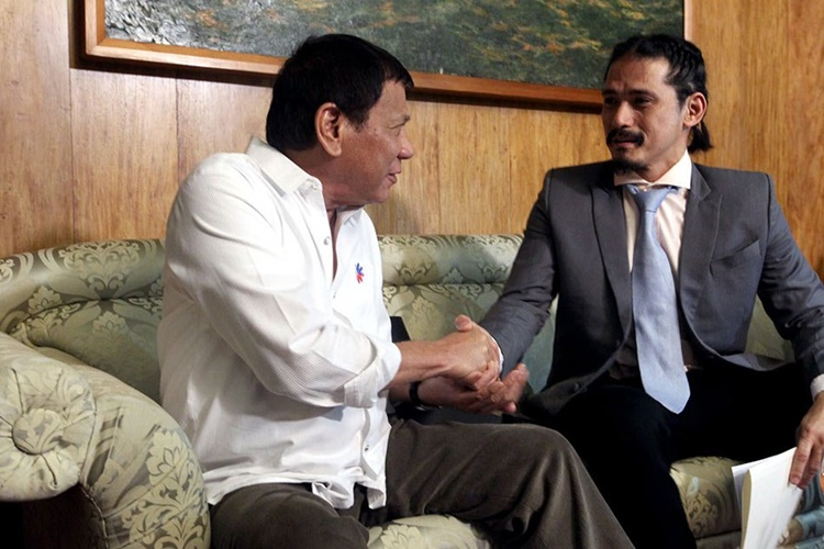 robin padilla president duterte - as-cbn franchise issue