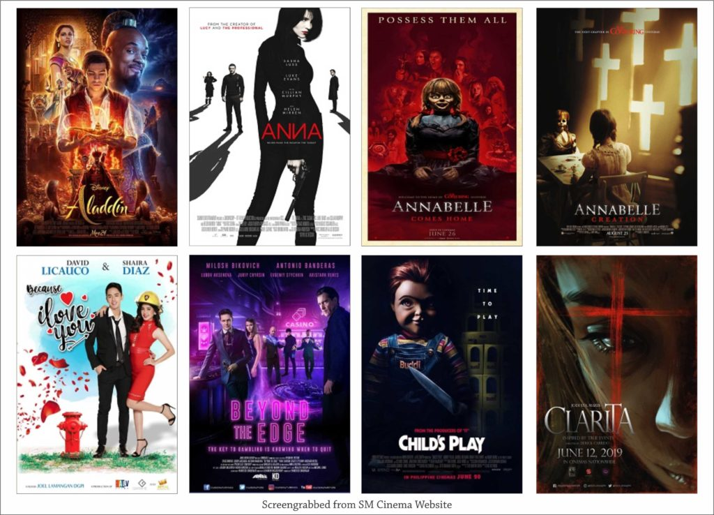 SM Cinema Showing Movies Today June 26, 2019