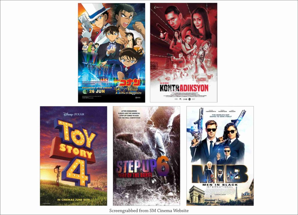 SM Cinema Showing Movies Today June 27, 2019