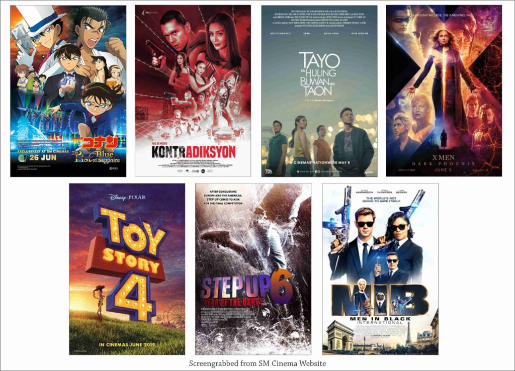 SM Cinema Showing Movies Today July 1, 2019