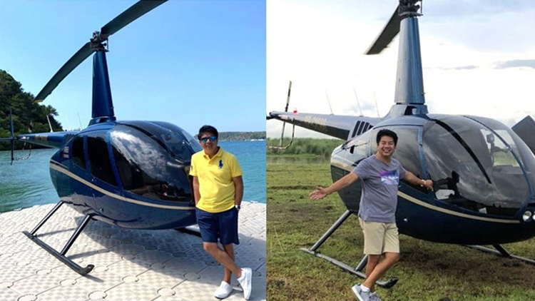 willie revillame helicopters
