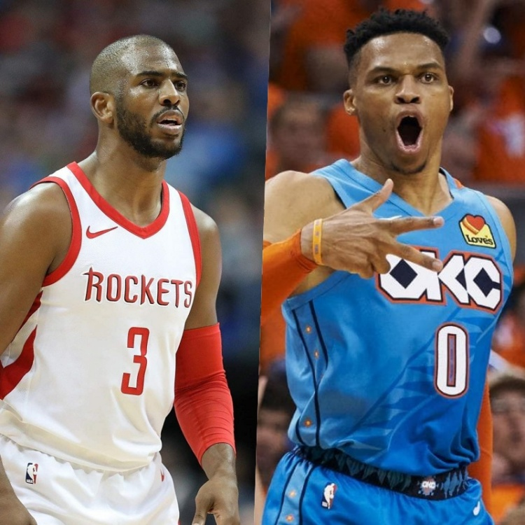 Houston Rockets Squad 2019: NBA: Rockets Just Traded Chris Paul For Russel Westbrook