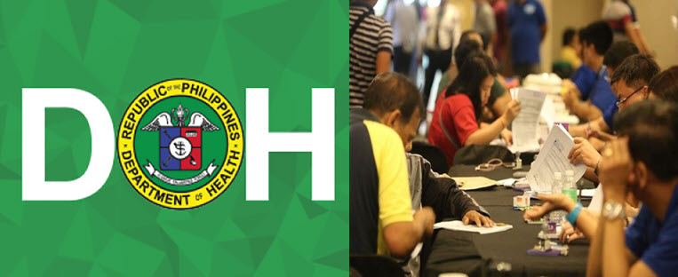 DOH hire health workers 1