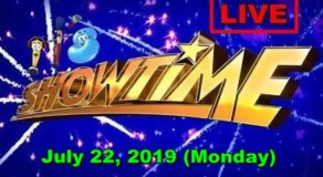 It's Showtime – July 22, 2019 Episode (LIVE STREAM)