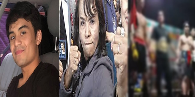 Jimuel Pacquiao and Mommy Dionisia
