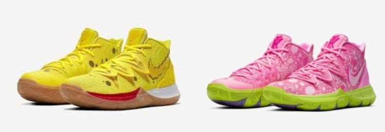 Nike Kyrie 5 Presents Spongebob Squarepants Sneakers
