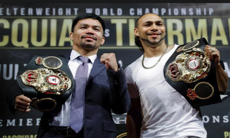 Manny-pacquiao-VS-Keith-Thurman