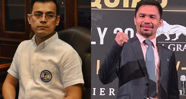 Mayor Isko Moreno, Manny Pacquiao