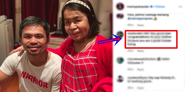 Mommy D, Manny Pacquiao