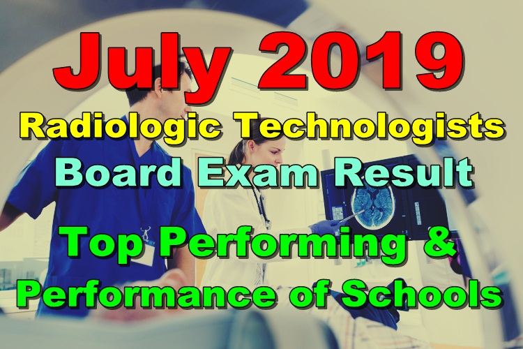 RadTech Board Exam Result