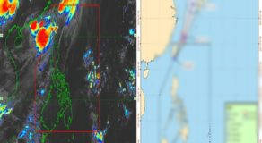 PAGASA: New LPA Within PAR Turns Into Tropical Depression Goring