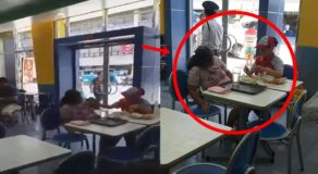 Jollibee Crew Goes Viral After Assisting Old Sick Woman Who Has Eating Difficulty