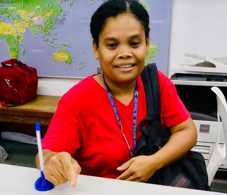 Honest Aeta Airport Employee
