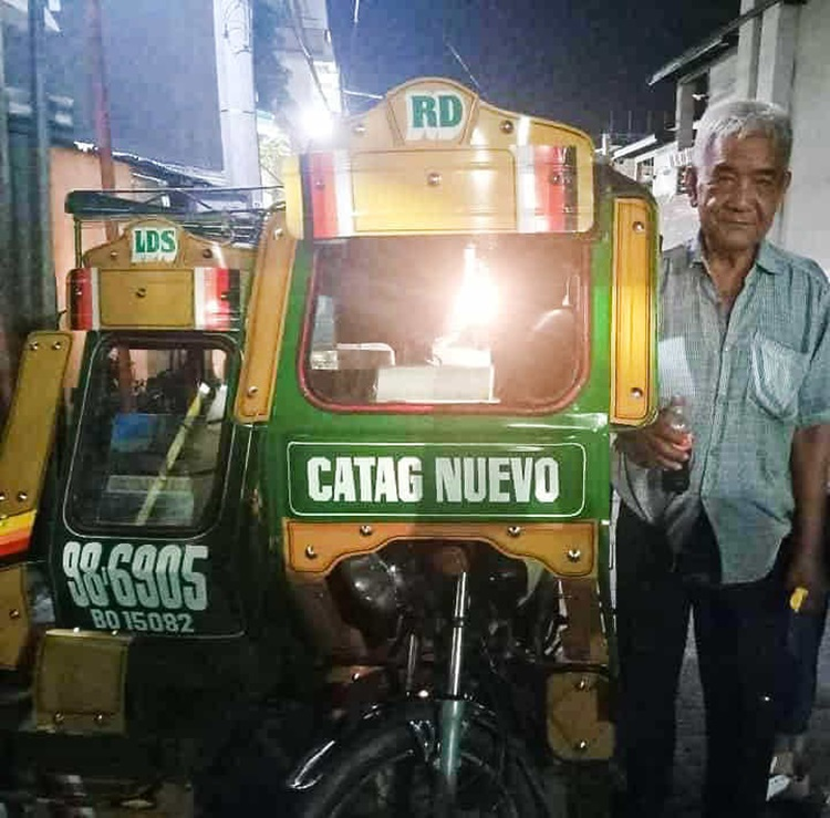 Honest Tricycle Driver