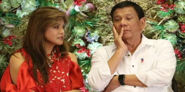imee Marcos and Rodrigo Roa duterte