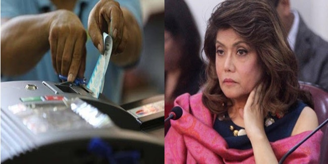 imee marcos on Smartmatic