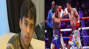 Jimuel Pacquiao Wants Dad To Quit From Boxing After Thurman Match