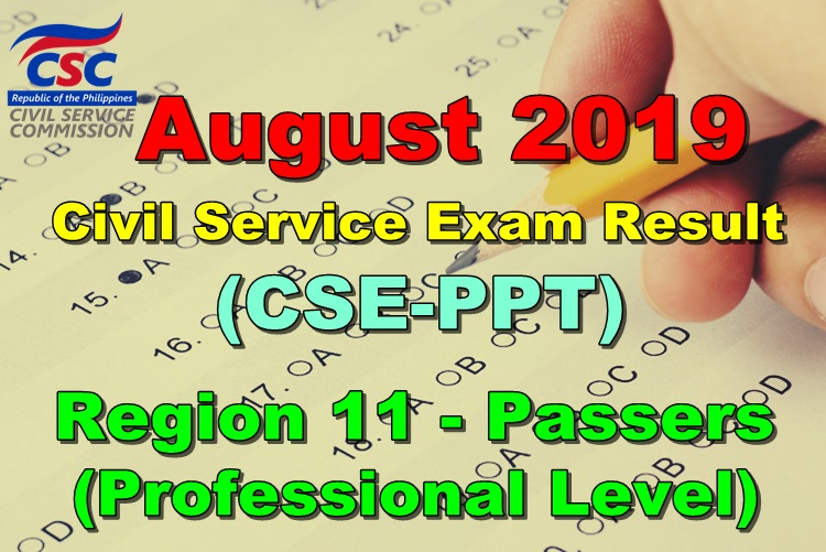 Civil Service Exam Result
