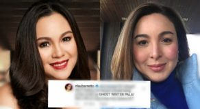 Claudine Barretto's 'Ghost Writer' Reply to Basher, 'Patama' to Marjorie?