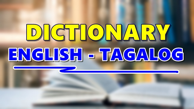 Dictionary English Tagalog