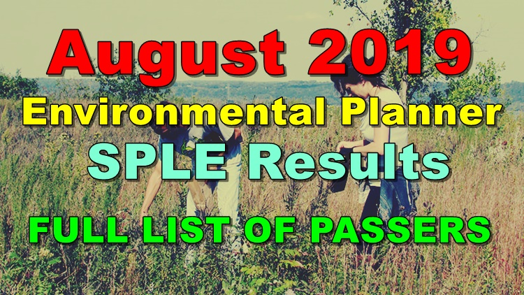 Environmental Planner Board Exam