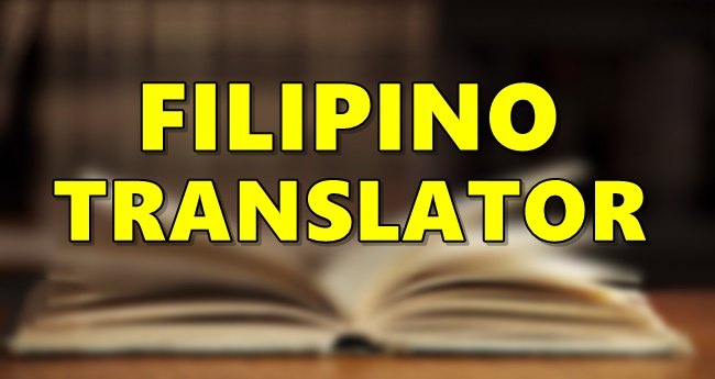 Filipino Translator
