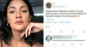 Kiana Valenciano Elicits Bashing for Littering Despite Clean-up Advocacy