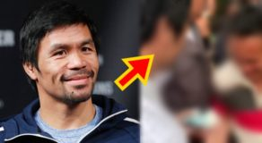 VIDEO: Manny Pacquiao Gives Away Money In Sarangani Province