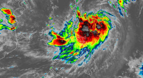 PAGASA : Ineng Now Becoming An Intense Tropical Storm
