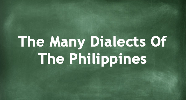 PHILIPPINE DIALECTS