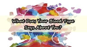 PERSONALITY FACTS – What Does Your Blood Type Says About You?