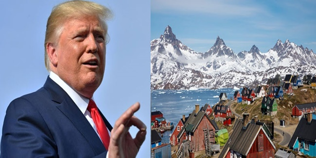 President Donald Trump wants to buy Greenland
