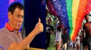 Duterte Supports SOGIE Bill, Separate Restroom For LGBTQ Members