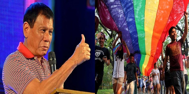 President Rodrigo Roa Duterte on LGBTQ