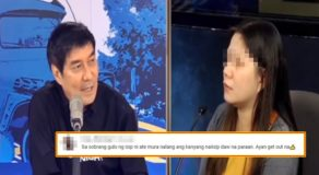 Raffy Tulfo Sends This Girl Out Of His Program Due To This Reason