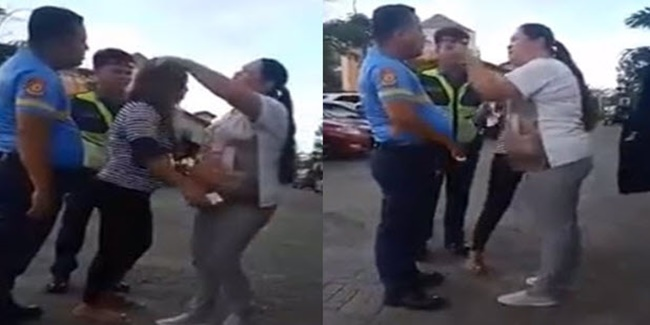 Raging Woman & Police Officer 1