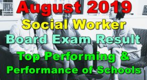 Social Worker Board Exam Result August 2019 – Top Performing & Performance of Schools