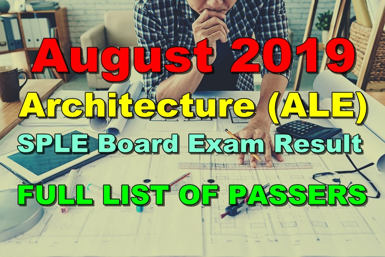 Architecture Board Exam Result