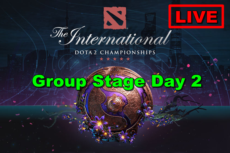 DOTA 2 TI9 Group Stage