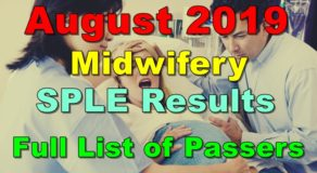 Midwifery Board Exam Result August 2019 (SPLE) – Full List of Passers